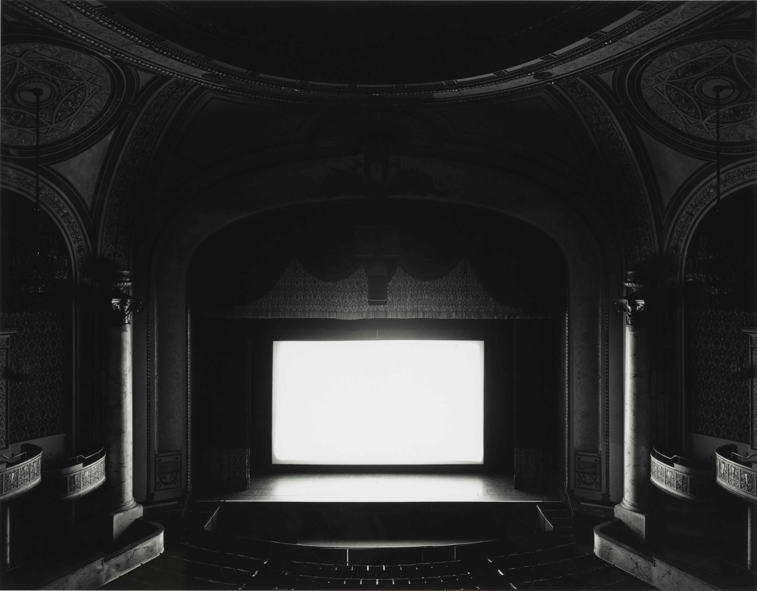 Hiroshi Sugimoto - Theaters - Proctor's Theatre, New York, 1996