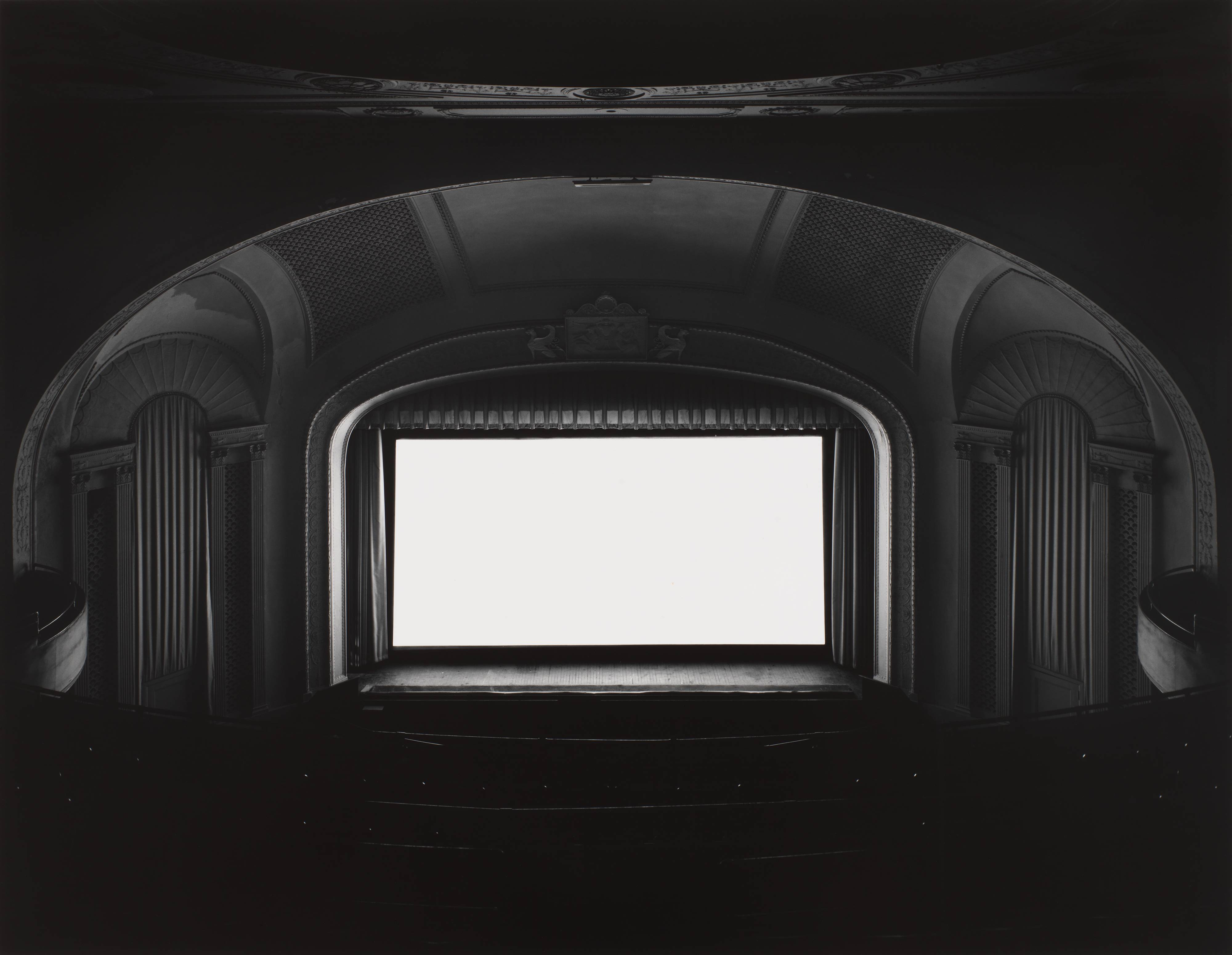 Hiroshi Sugimoto - Theaters - U.A. Playhouse, Great Neck, New York, 1978