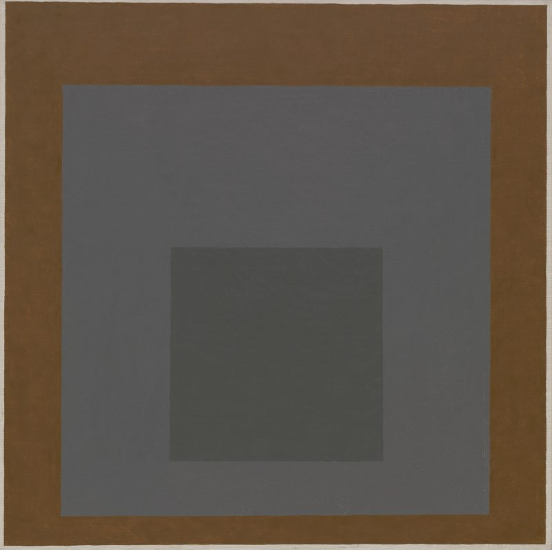 Josef Albers - Homage to the Square, 1961, oil on masonite, 80.8 x 80.8 cm (31 13:16 x 31 13:16 in)