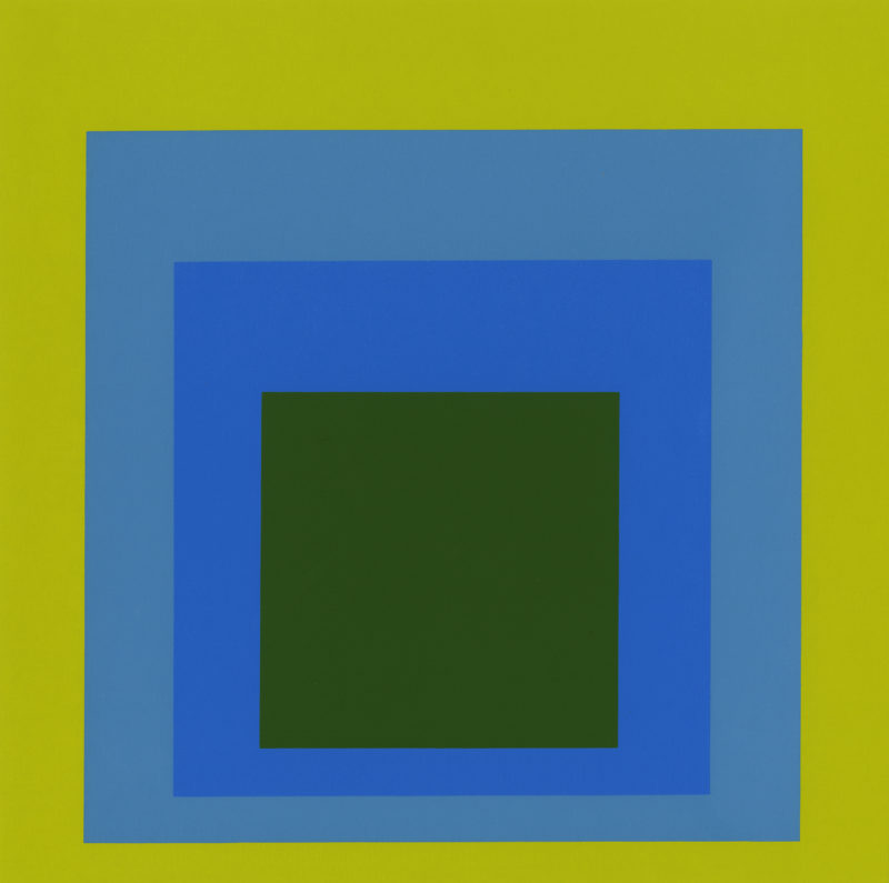 Josef Albers - Homage to the Square, 1972, screenprint, 38.1 x 50.8 cm (15 x 20 in)