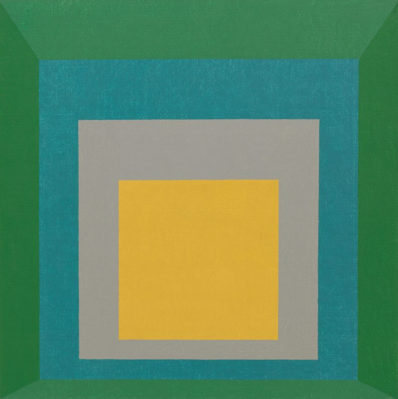 Josef Albers - Homage to the Square- Apparition, 1959, oil on masonite, 120.6 x 120.6 cm (47 1:2 x 47 1:2 inches)