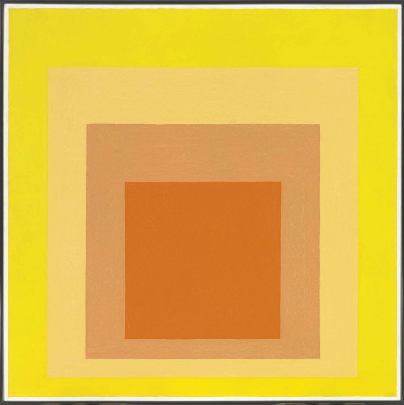 Josef Albers - Homage to the Square - Midsummer, 1963, 101.6 x 101.6 cm (40 x 40 in)
