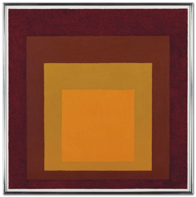 Josef Albers - Study for Homage to the Square - Deep Tune, 1963, oil on masonite, 76.3 x 76.3 cm (30 x 30 in)