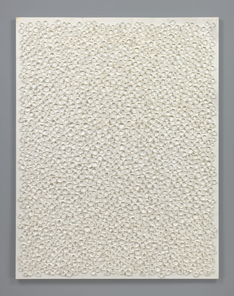 Kwon Young-Woo (권영우) – Untitled, 1982, korean paper, 157.0 x 122.0cm