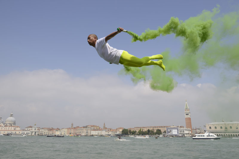 Li Wei - Flying over Venice, 2013