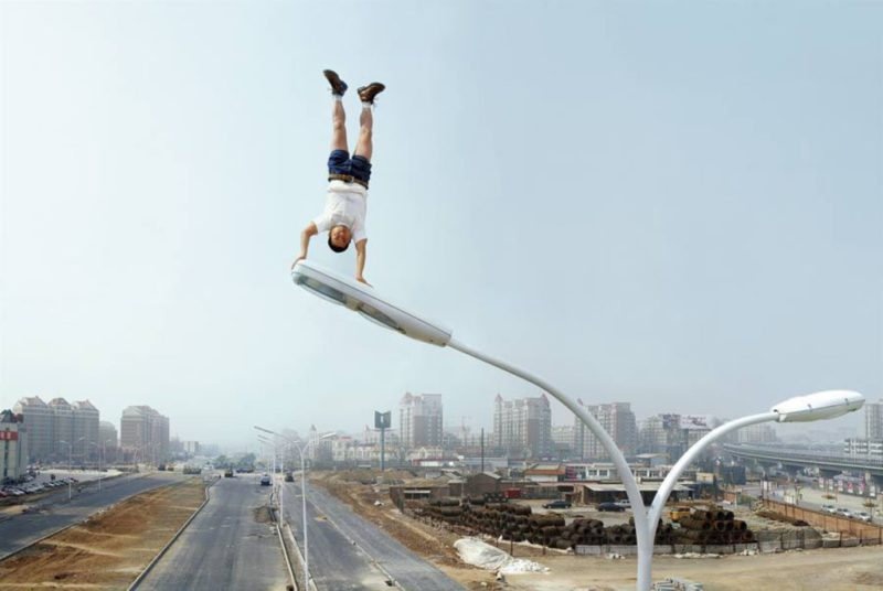 Li Wei - High Place, Bright Apex - 75-04, 2007