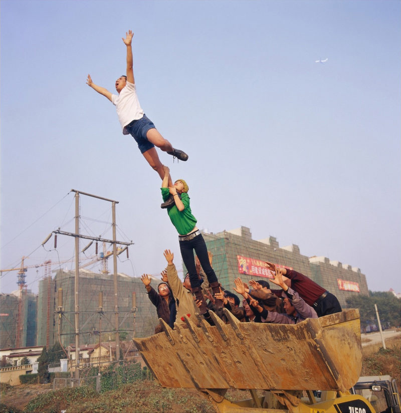 Li Wei - High Place, On the surface of the earth, 2004