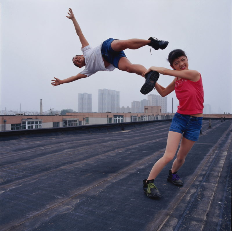 Li Wei - Love at the high place 1, Beijing, 2004