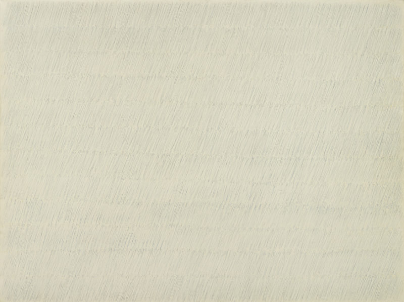Park Seo-Bo (박서보) – Ecriture No.27-77, 1977, Oil and pencil on canvas