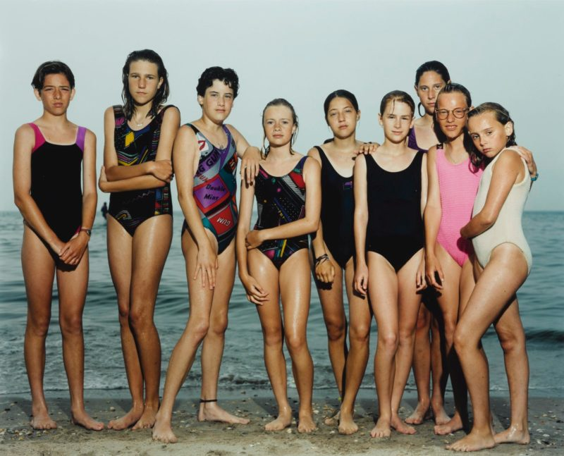 Rineke Dijkstra - Castricum Aan Zee, The Netherlands, June, 1992