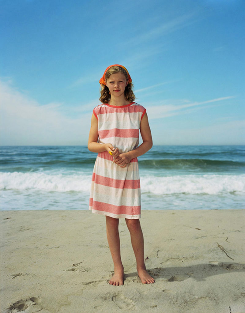 Rineke Dijkstra - Maddy, Martha's Vineyard, MA, USA, August 5, 2015