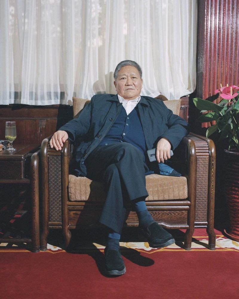 Shi Yangkun - Wang Hongbin, 67, head of Nanjie Village