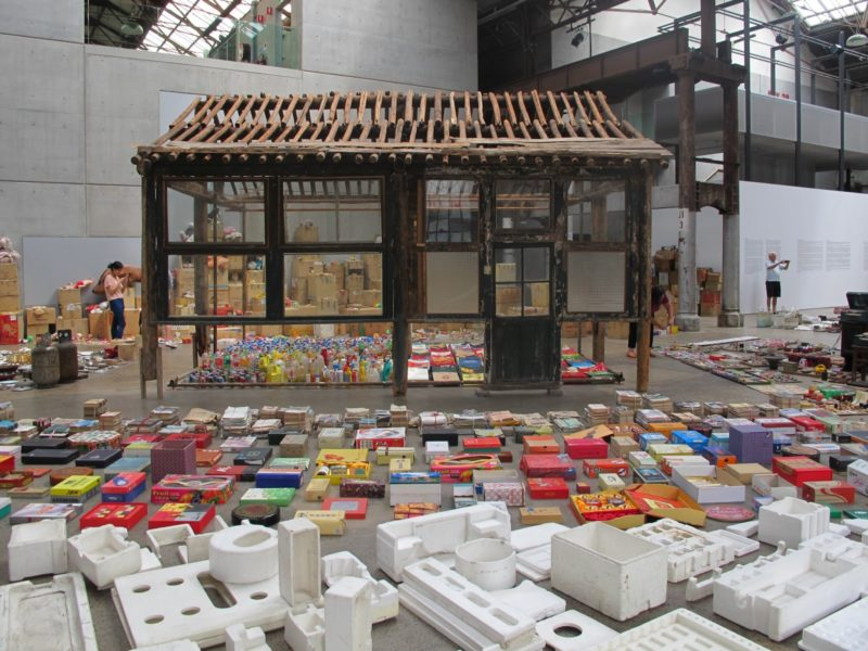 Song Dong - Waste Not, 2005, Carriageworks in Sydney, 2013