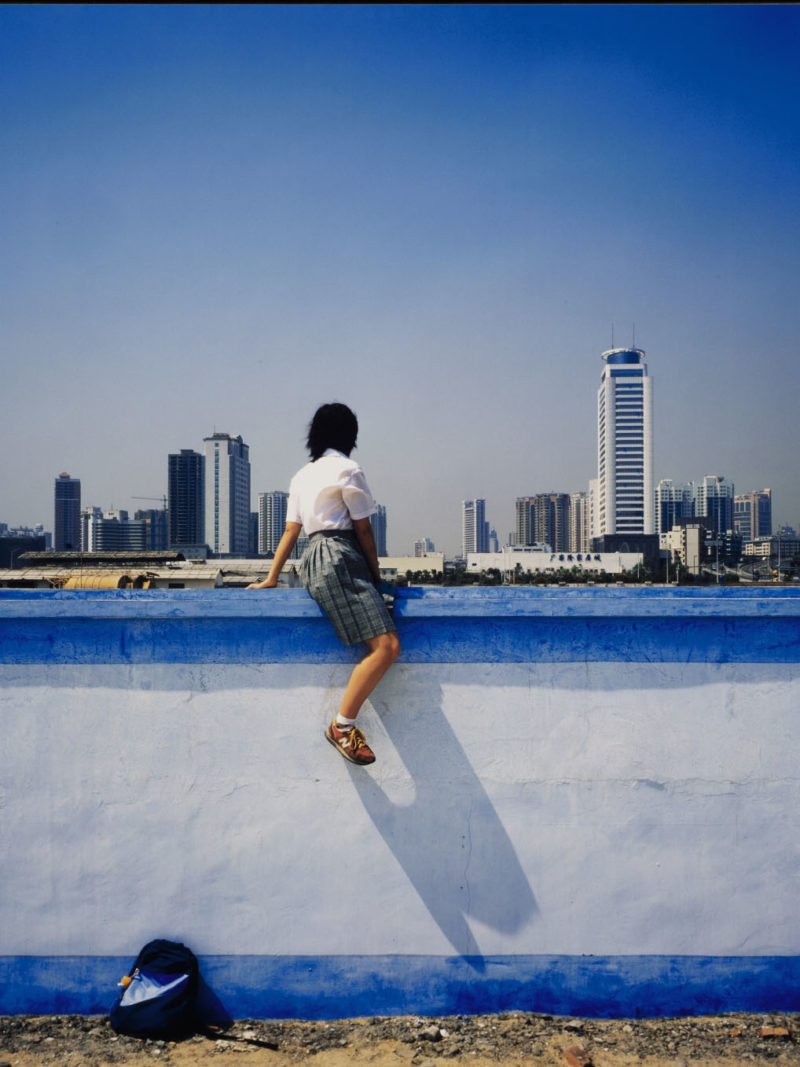 Photographer Weng Fen's girls stare into China's future