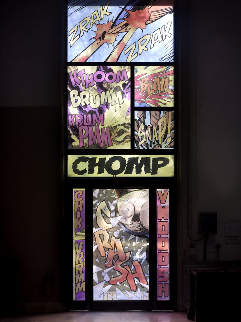 Christian Marclay: 7 stained glass windows you won't see in any cathedral