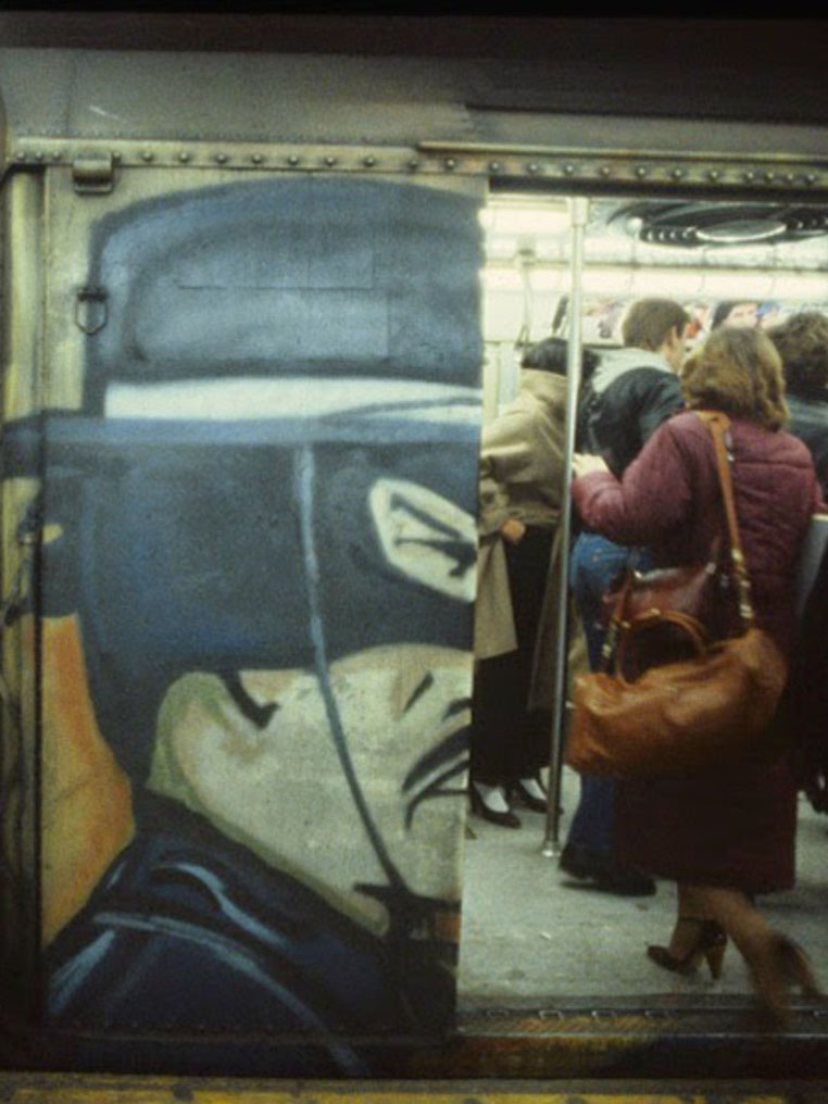 Christopher Morris: How the New York Subway looked in the 1980s