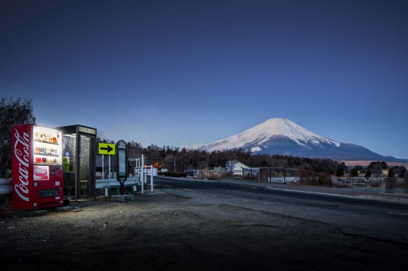 Eiji Ohashi - Vending Machines in Japan, Roadside Lights, Mount Fuji
