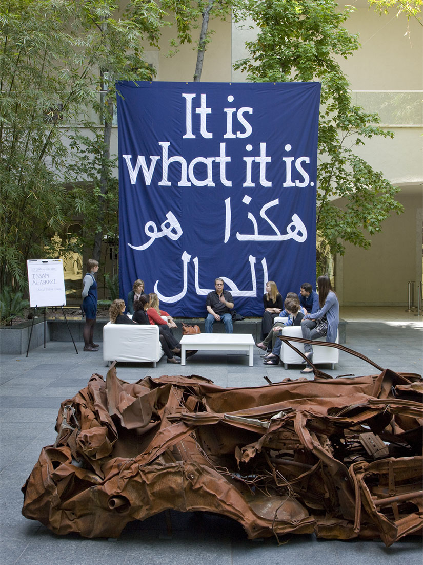 Why did Jeremy Deller bring an Iraqi suicide car bomb into museums?