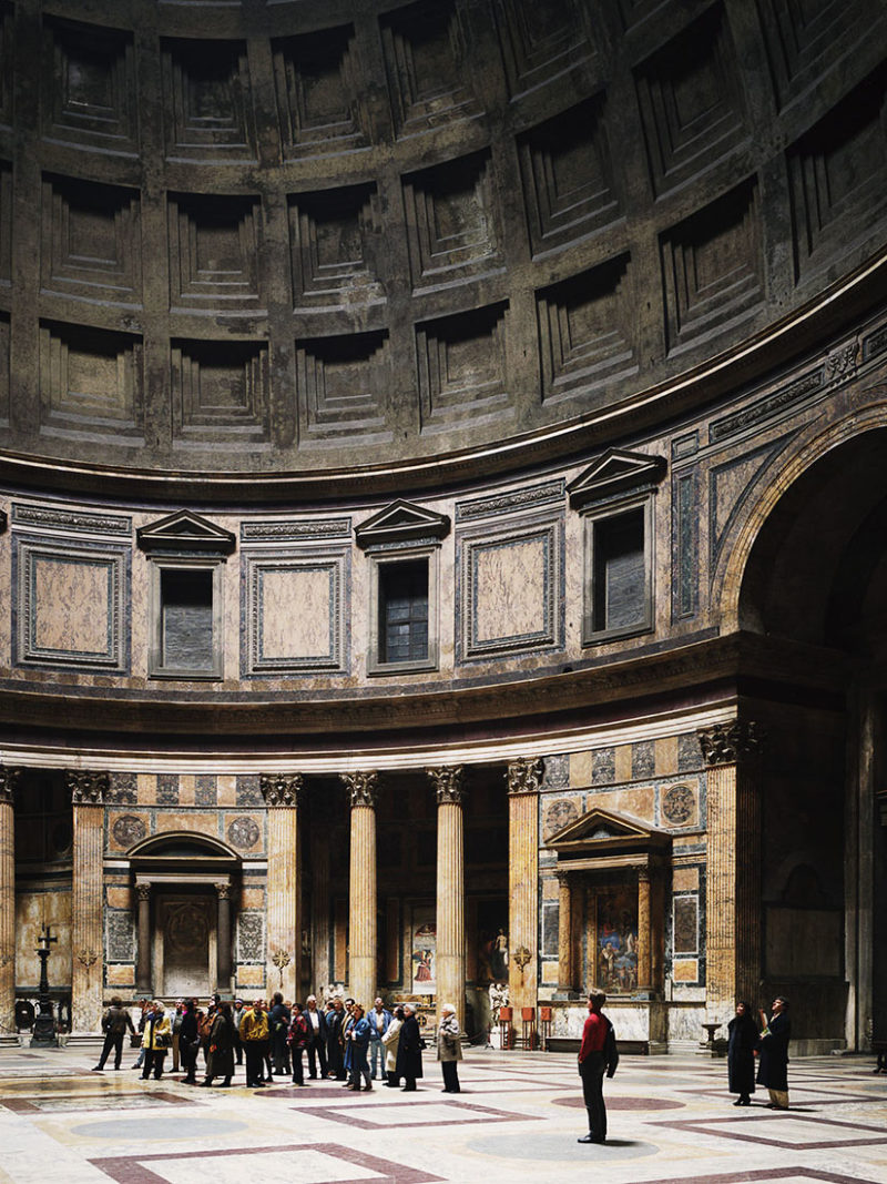 Thomas Struth & a new visual language in photography