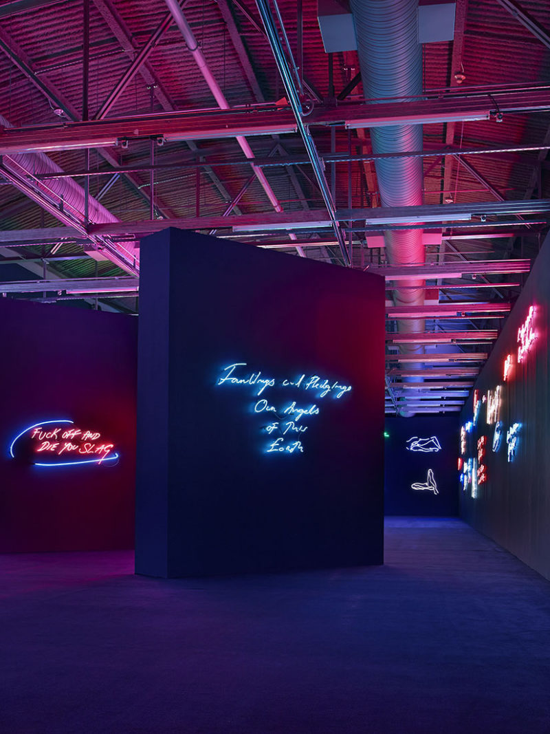 The Obscenity and Heartache in Tracey Emin's Neon Signs