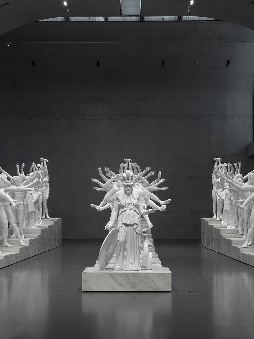Leading artist Xu Zhen: 19 Western sculptures for stunning installation