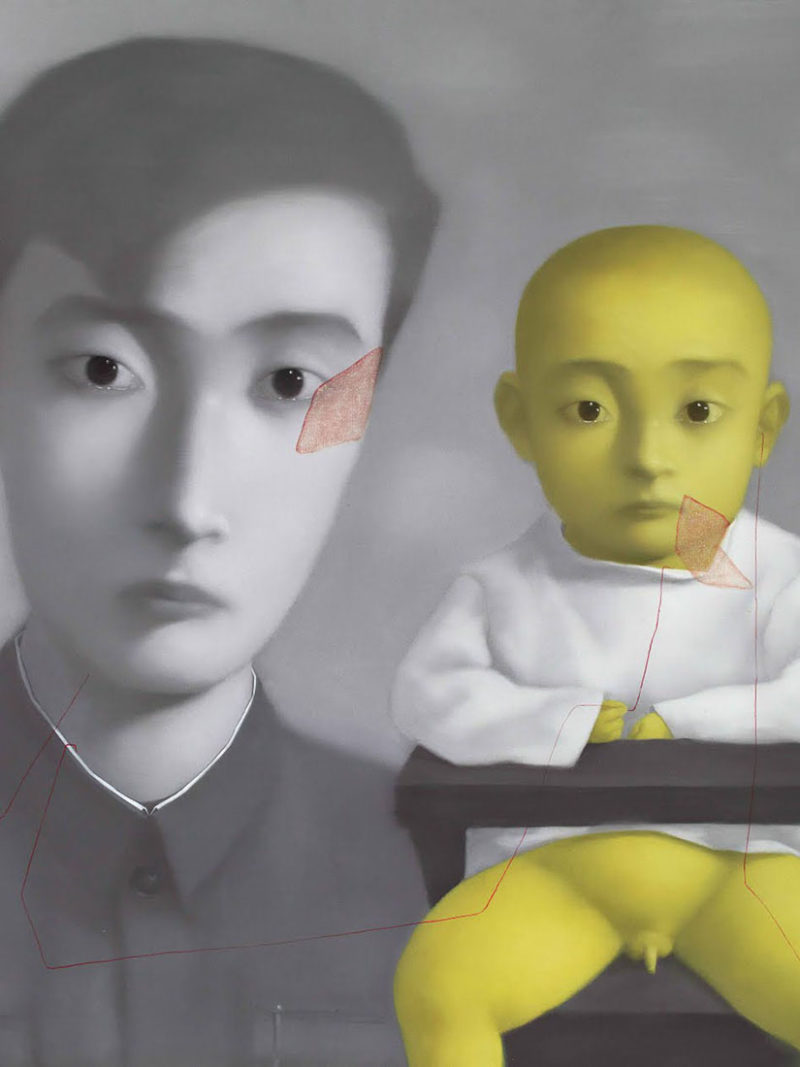 Zhang Xiaogang: China's most important painter & his Bloodlines series