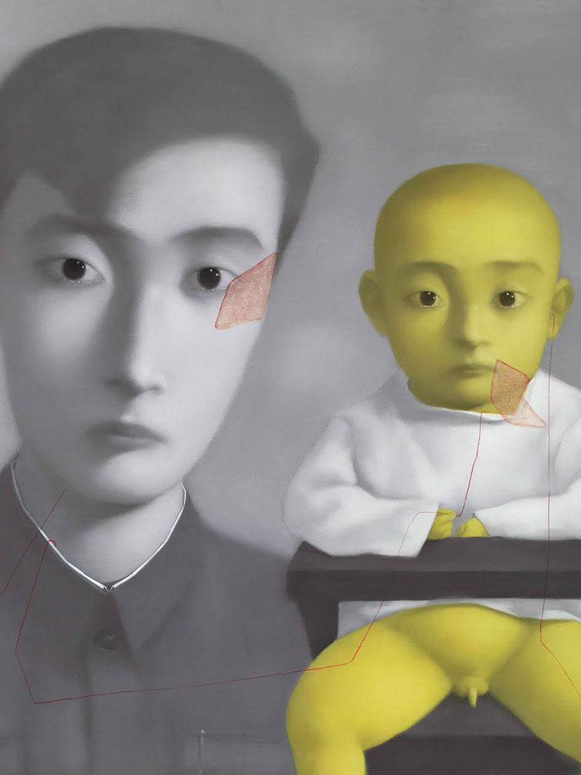 China's most important painter and his iconic series - Zhang Xiaogang
