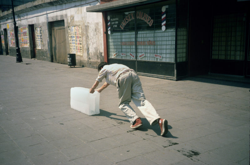 Francis Alÿs - Paradox of Praxis I (Sometimes Making Something Leads to Nothing), Mexico City, 1997