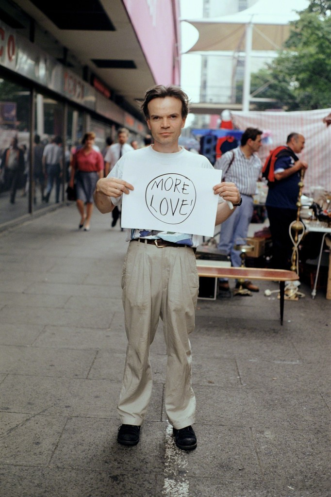 Gillian Wearing - More Love! from Signs that say what you want them to say and not Signs that say what someone else wants you to say, 1992-1993