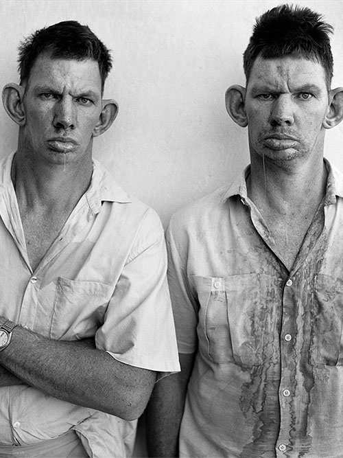 Who are Roger Ballen's Twins?