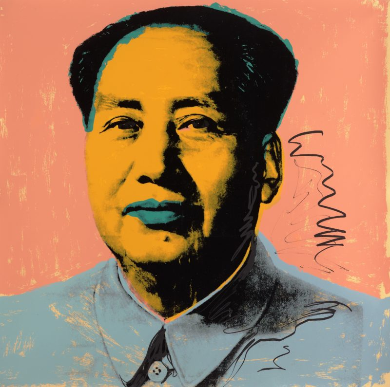Andy Warhol - Mao, 1972, Silkscreen printed in colours, 91,5 x 91,4 cm
