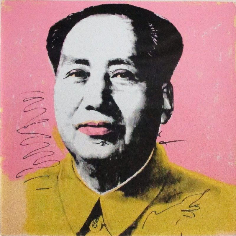 Andy Warhol - Mao [II.91], 1972, screenprint on Beckett High White, paper 91 x 91 cm (36 x 36 in.), edition of 250