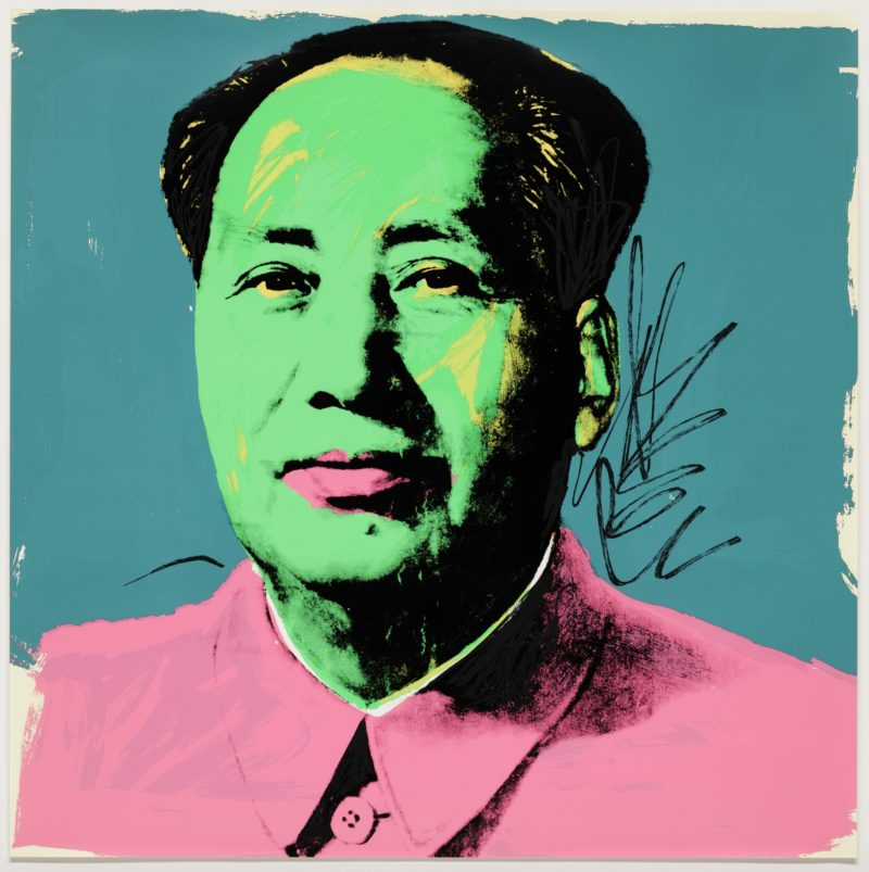 Andy Warhol - Mao [II.93], 1972, screenprint, 91 x 91 cm (36 x 36 inches), edition of 250