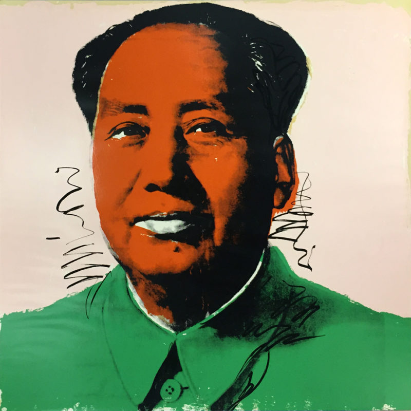 Andy Warhol - Mao [II.94], 1972, screenprint on Beckett High White paper, 91 x 91 cm (36 x 36 in.), edition of 250