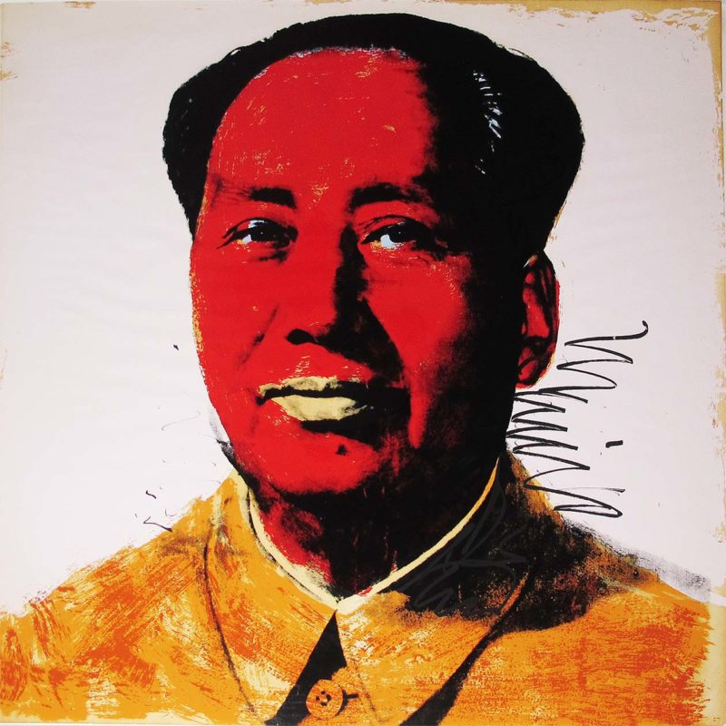 Andy Warhol - Mao [II.96], 1972, Screenprint on Beckett High White paper, 91 x 91 cm (36 x 36 in.), edition of 250