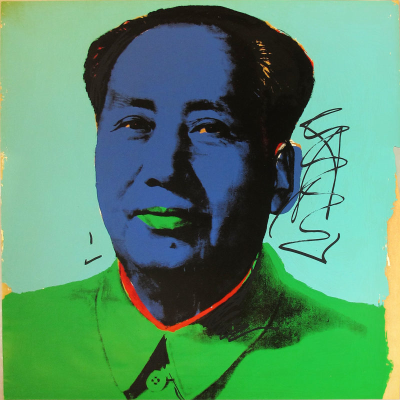 Andy Warhol - Mao [II.99], 1972 Screenprint on Beckett High White paper, 36 x 36 in., edition of 250