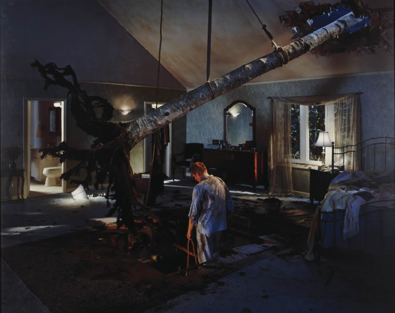 Gregory Crewdson - Untitled (Bedroom tree) from Twilight, 2001 - 2002