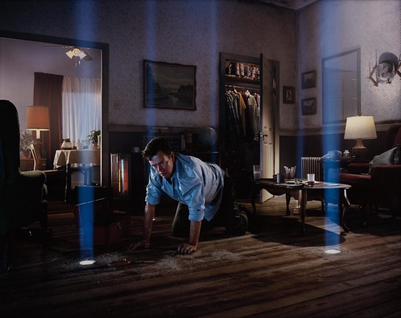 Gregory Crewdson - Untitled (Dylan On The Floor), from Twilight, 2001