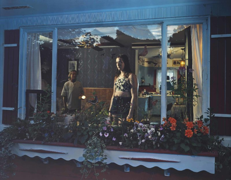 Gregory Crewdson - Untitled (Girl in Window) from Twilight, 1999