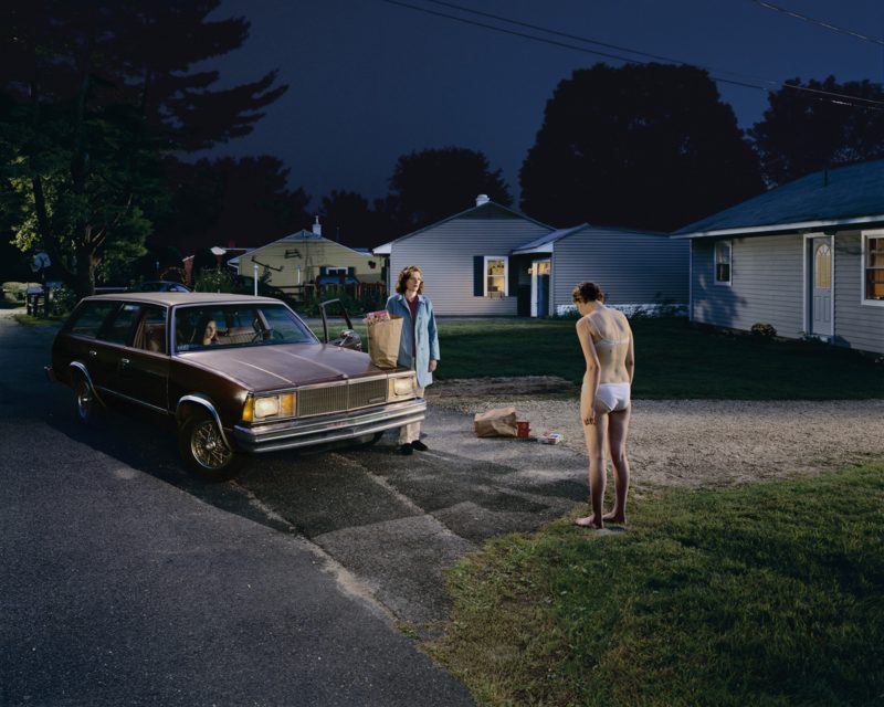 Gregory Crewdson - Untitled (Penitent Daughter) from Twilight, 2001-2002