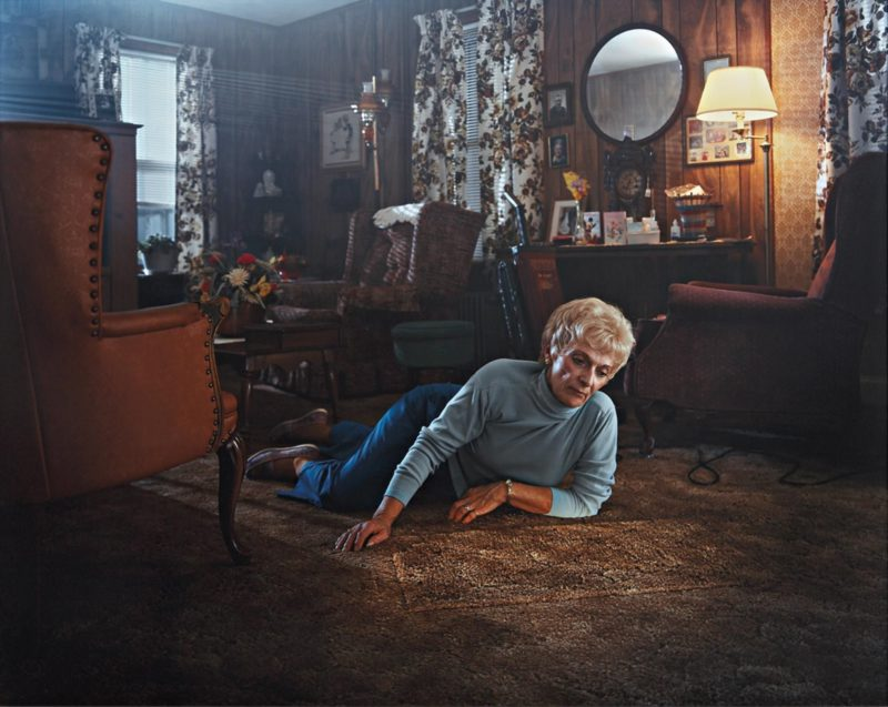 Gregory Crewdson - Untitled (Rug lady) from Twilight, 1999