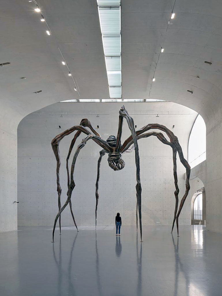 Louise Bourgeois – Maman (Spider), 1999, Long Museum (West Bund), Shanghai, 2018