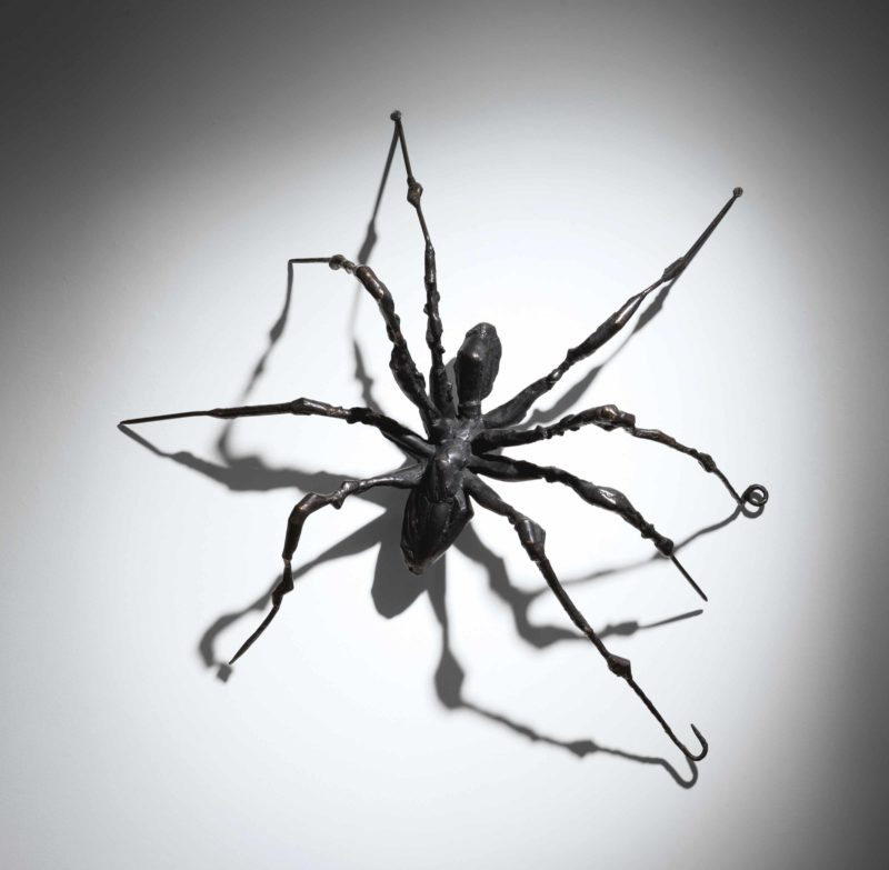Louise Bourgeois - Spider II, 1995, bronze, edition of 5, 185.4 x 185.4 x 57.2 cm