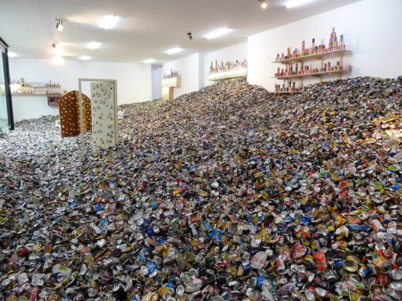 Thomas Hirschhorn - Too too much much, 2010, dimensions variable, Museum Dhondt-Dhaenens, Deurle, Belgium, 2010, photo Romain Lopez