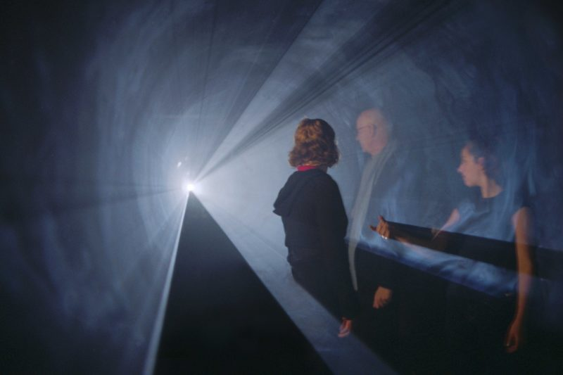 Anthony McCall - Line Describing a Cone, 1973, installed in 2002