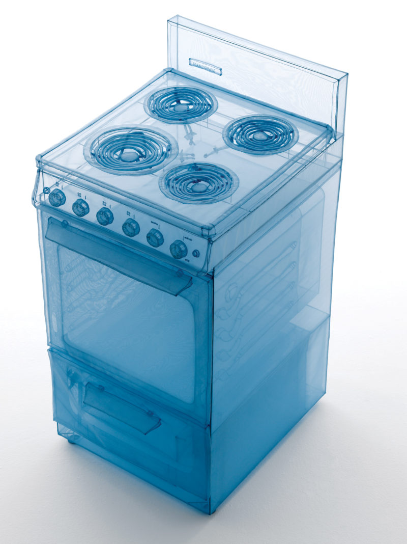 Do Ho Suh - Stove, 2013 polyester fabric