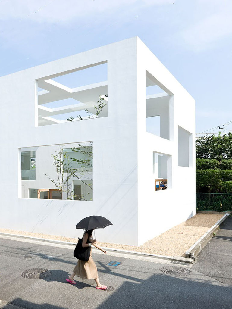 Sou Fujimoto Architects' unique House N in Japan