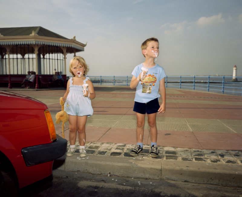 Martin Parr - GB. England. New Brighton. From 'The Last Resort'. 1983-85, LON6985