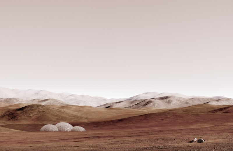 Michael Najjar – sands of mars, 2014