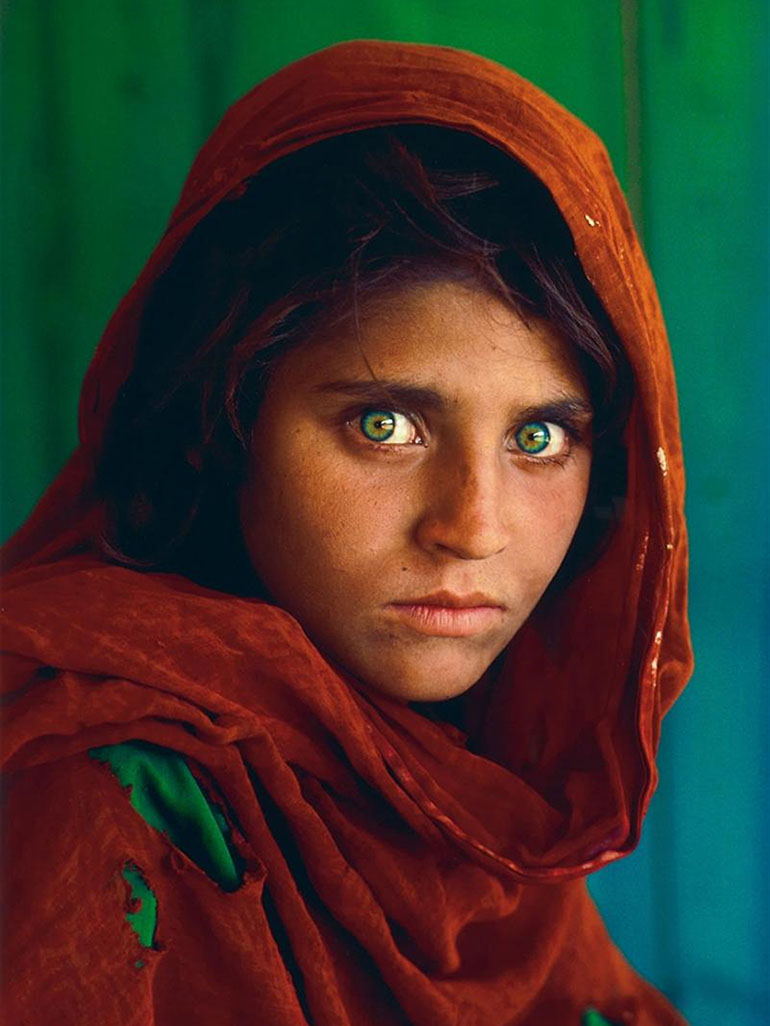 The story of Steve McCurry & Sharbat Gula, the Afghan Girl
